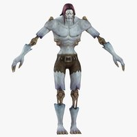 3D model world warcraft male undead