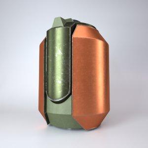 plasma grenade 3D