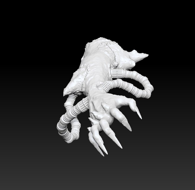monster arm 3D model