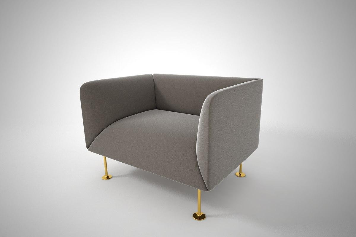 3D furnishings furniture sofa model
