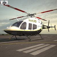 3D bell 429 globalranger