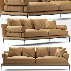 sofa seat furniture 3D