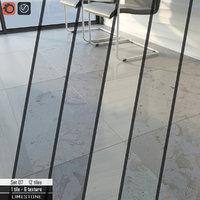 3D stone tile set 07
