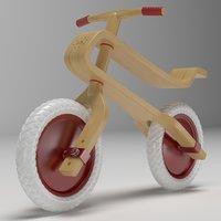 Wooden Balance Bike Brum Brum