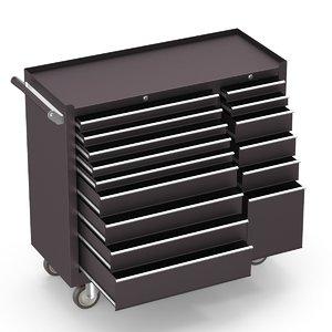 toolbox cabinet 3D model