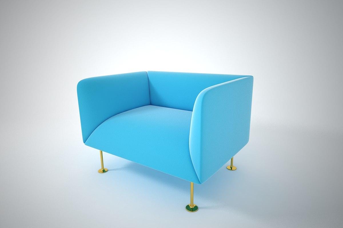 furnishings furniture sofa 3D