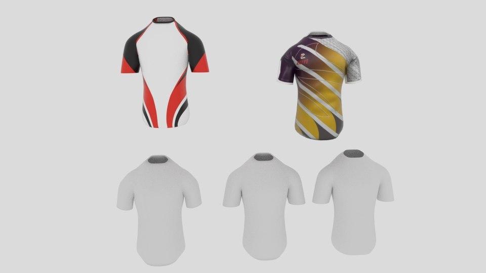 t shirt sport model