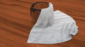 cloth bowl 3D model