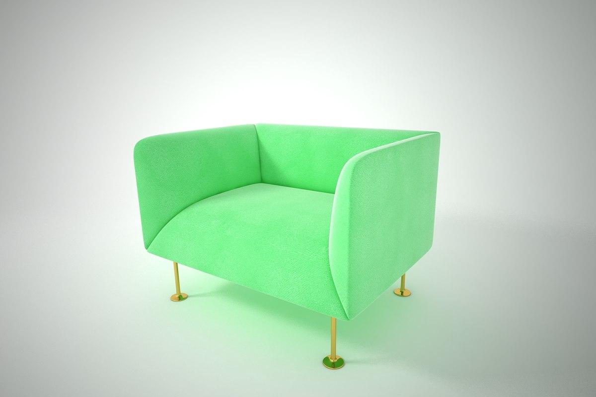 3D furnishings furniture sofa