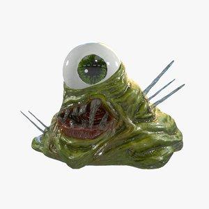 slime crystal monster model
