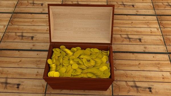 chest physics 3D model