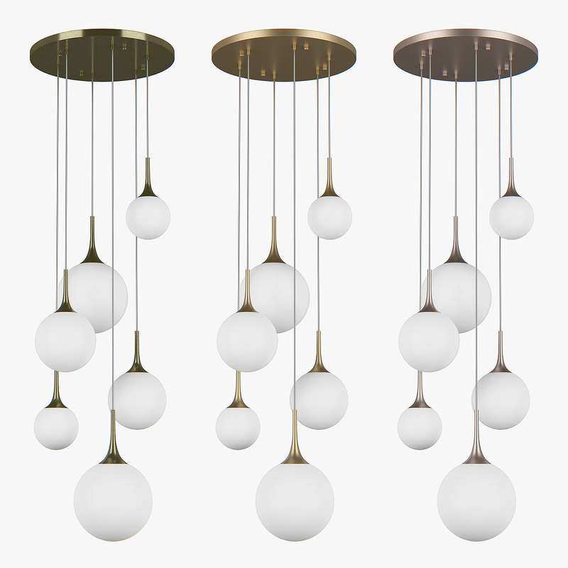 chandelier 81306x globo lightstar 3D