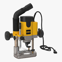 3D model plunge router dewalt dw621