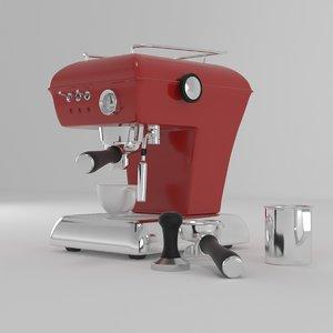 ascaso coffee machine 3D model