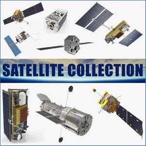 3D satellite 3 model