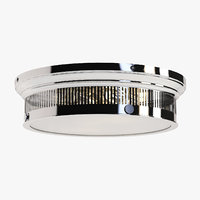 visual alderly flush mount 3D