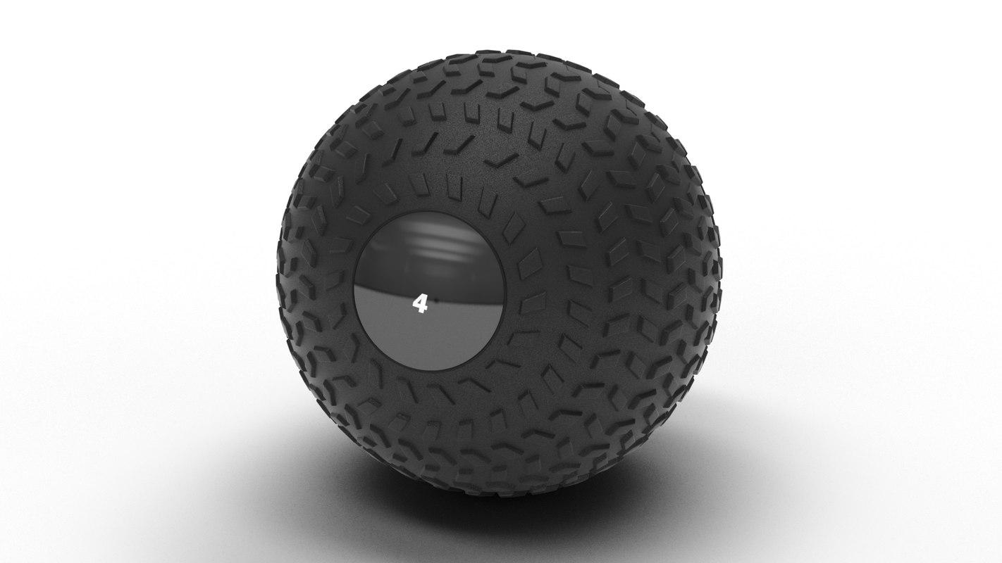 3D gym slamball model