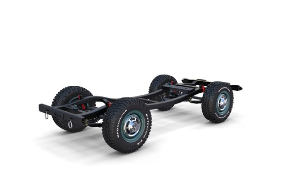 offroad vehicle chassis model