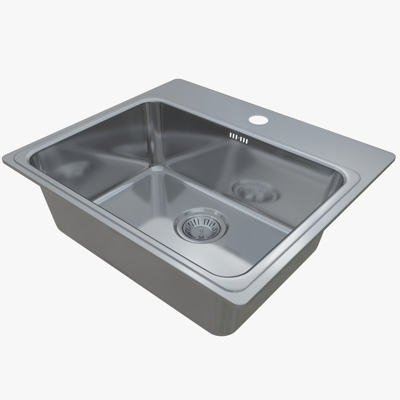 sink combo p50-60 3D model