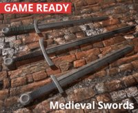 Medieval Swords (3 in 1)