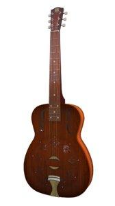 national duolian guitar 3D