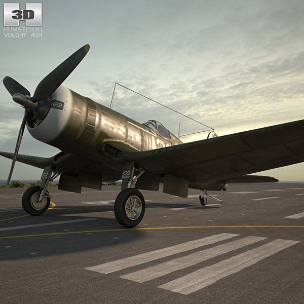 3D airplane fighter aircraft