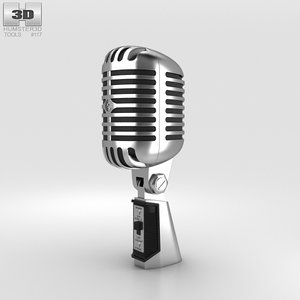 3D microphone mic retro