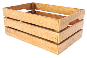 3D model wooden box pbr -