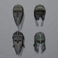 Gladiator Helmets Mini Pack