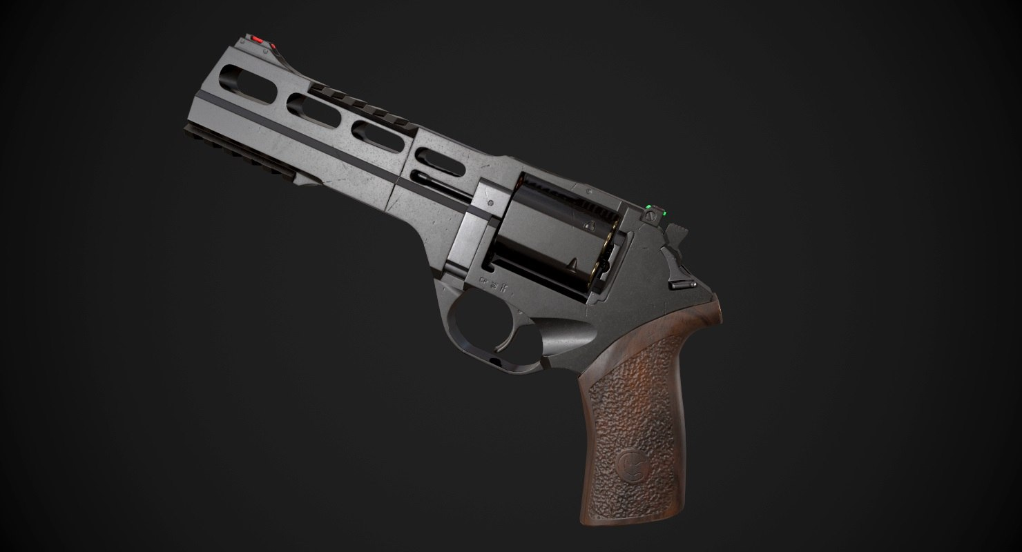 chiappa rhino 60ds aaa 3D model