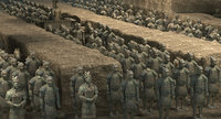 Terracotta Warriors Scene