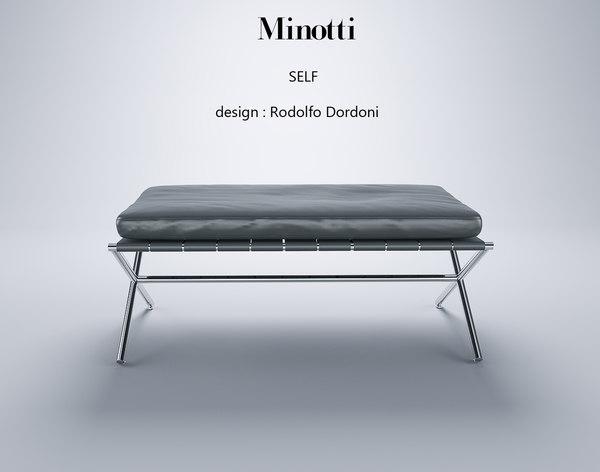 minotti self model