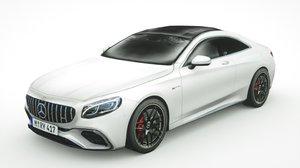 mercedes-benz s63 coupe 2018 3D model