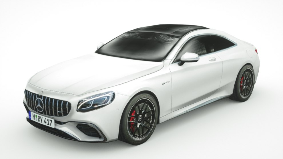 Mercedes Benz S63 Coupe 2018