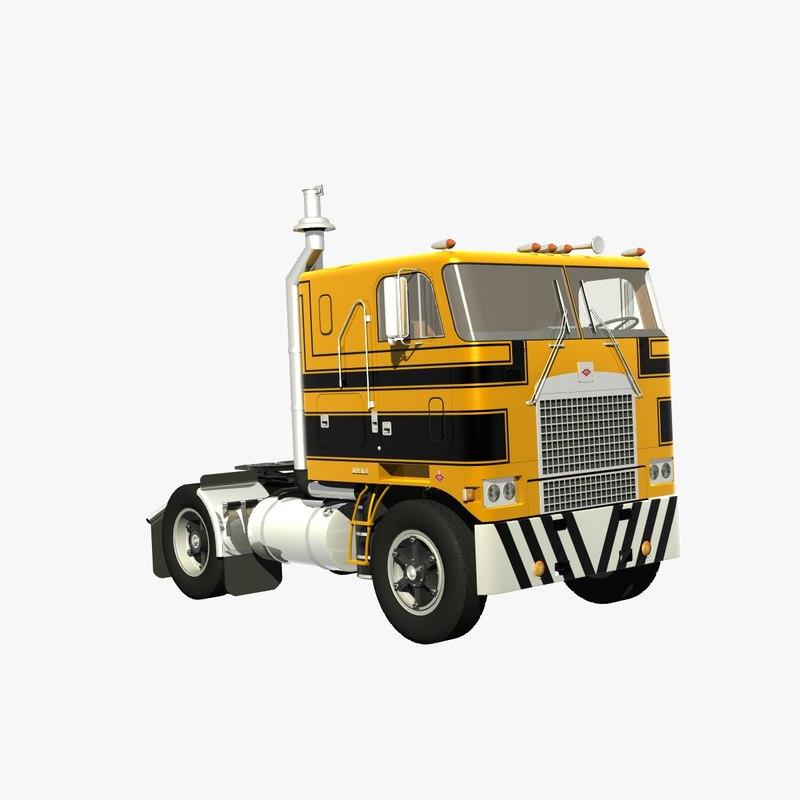 Drive In Reo >> Diamond Reo Royale Drive 3d Turbosquid 1281172