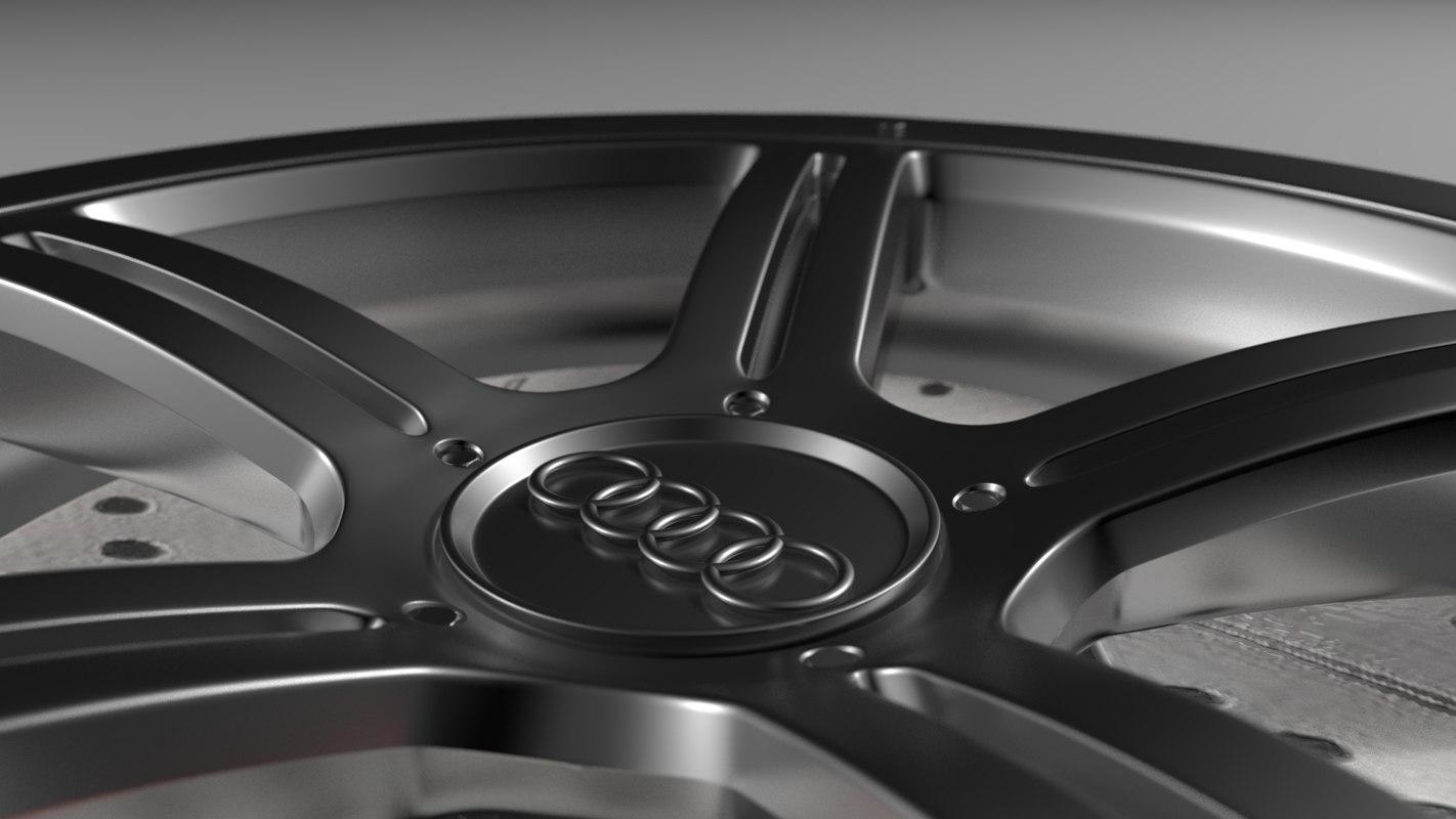 3D rim vehicle wheel