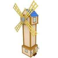 wind 3D model