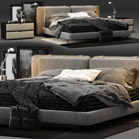 Minotti Tatlin Soft Bed