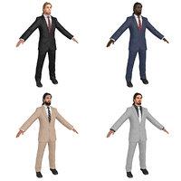 new age businessman 3D model