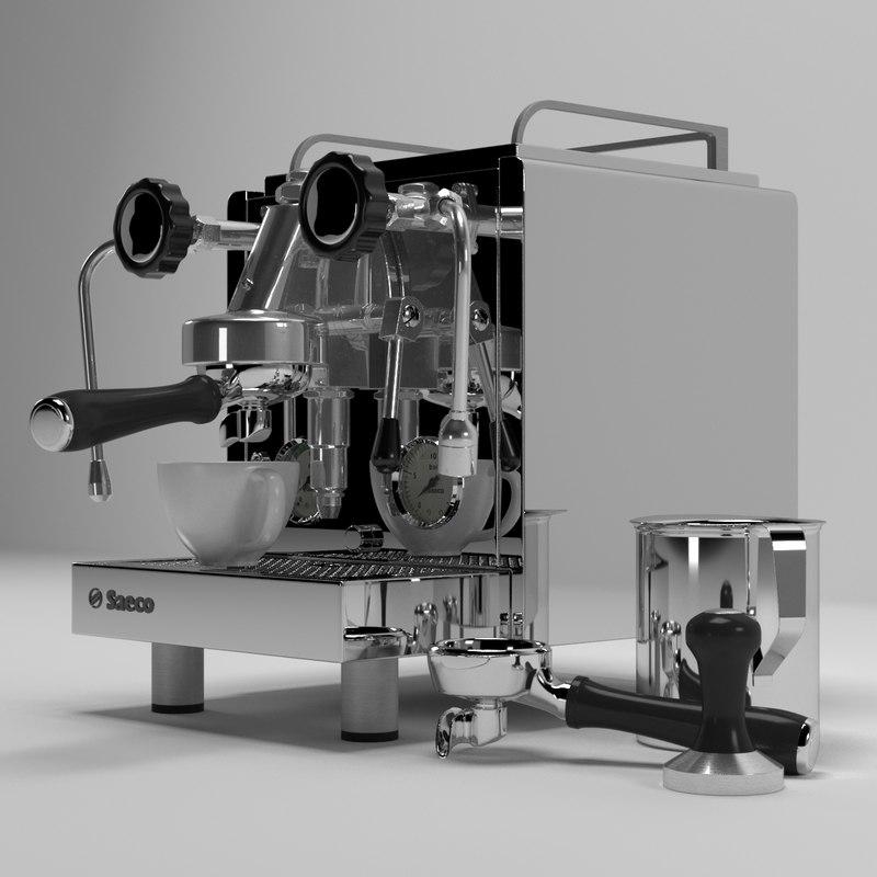 saeco coffee machine 3D model