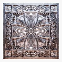 old tin tiles 3D