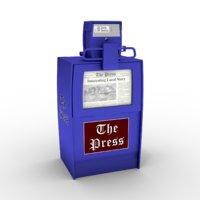 newspapers box model