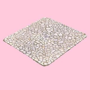 cobblestone stone 3D model