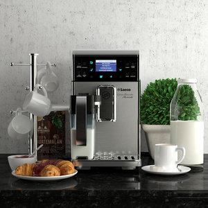 coffee decor 3D model