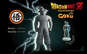 goku dragon ball z 3D