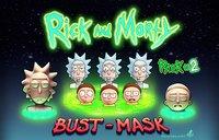 rick morty 3D model