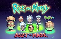 3D rick morty