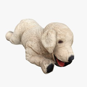 scan stuffed dog 3D model