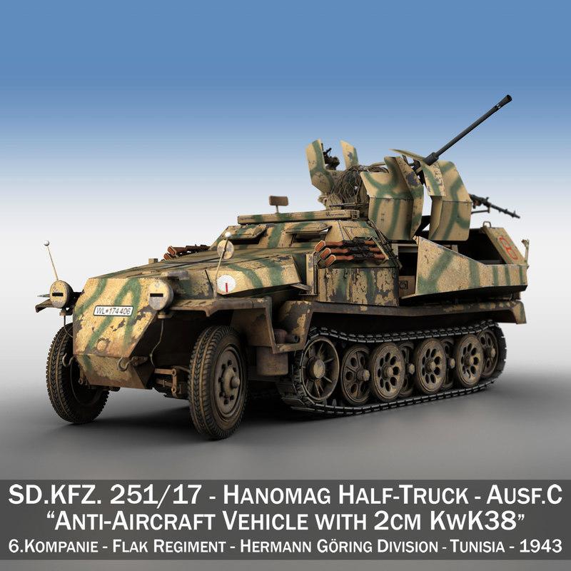 sd kfz ausf c 3D model