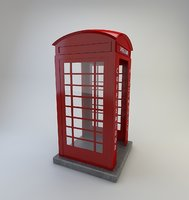 telephone cabin door model